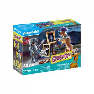 Playmobil Scooby-Doo! Aventuri Cu Cavalerul Negru