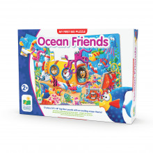 Primul Meu Puzzle De Podea - Prietenii Oceanului