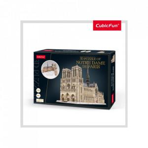 Puzzle 3D Notre Dame (Nivel Complex 293 Piese)