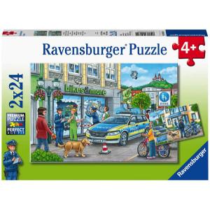 Puzzle Ancheta Politie, 2X24 Piese