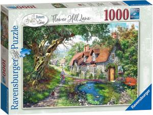 Puzzle Casuta Pe Deal, 1000 Piese