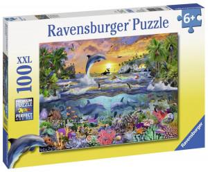 Puzzle Paradis Tropical, 100 Piese