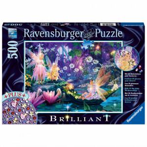 Puzzle Zanale Padurii, 500 Piese + Stickere