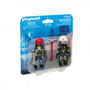 Set 2 Figurine Playmobil City Action - Pompieri