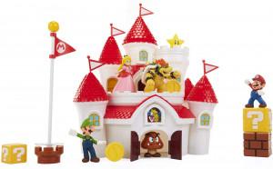 Set de joaca Deluxe Super Mario Nintendo, Castelul Mushroom Kingdom