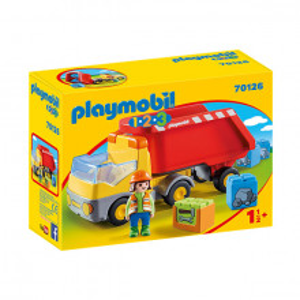 Set de joaca Playmobil 1.2.3, Basculanta Rosie