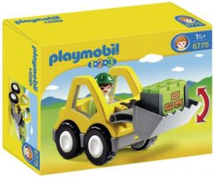 Set de joaca Playmobil, 1.2.3 Excavator