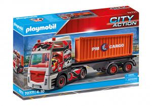 Set de joaca Playmobil Camion Cu Container De Marfa