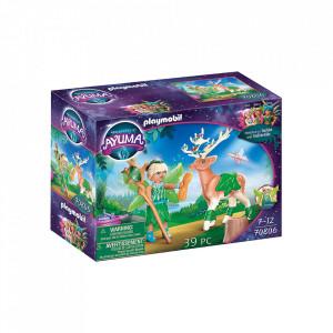Set de joaca Playmobil Forest Fairy Cu Animalul De Suflet