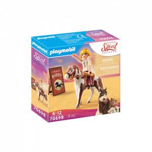 Set de joaca Playmobil Rodeo Cu Abigail & Boomerang