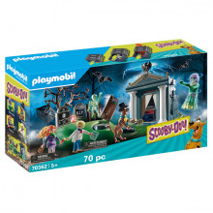 Set de joaca Playmobil Scooby-Doo! Aventuri In Cimitir