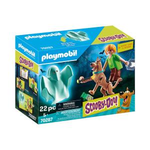 Set de joaca Playmobil Scooby & Shaggy Cu Fantoma