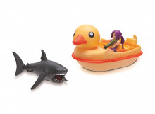 Set de joaca Roblox Celebrity, model Shark Bite Duck Boat