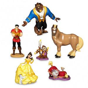 Set figurine Frumoasa si Bestia