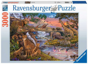 Puzzle Animale Salbatice La Rau, 3000 Piese