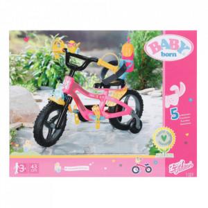 Baby Born - Bicicleta Cu Lumini Si Claxon