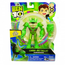 Figurina Ben 10, Metallic Diamondhead - 12Cm