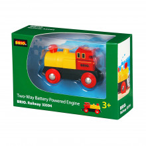 Locomotiva Mica Rosie Cu Baterii