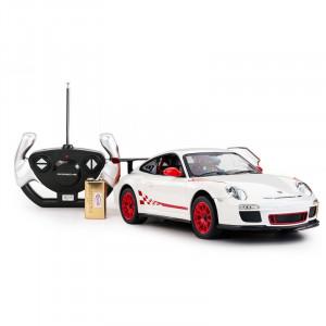 Masina Cu Telecomanda Porsche Gt3 Alb Cu Scara 1 La 14