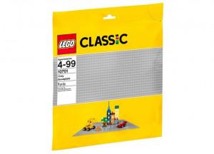 Placa de baza gri LEGO