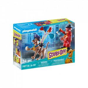 Playmobil Scooby-Doo! Aventuri Cu Fantoma Clovn