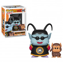 Pop & Buddy: Dbz King Kai & Bubbles