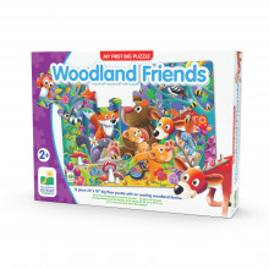 Primul Meu Puzzle De Podea - Prietenii Padurii