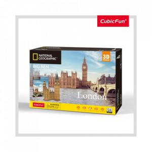 Puzzle 3D+Brosura-Big Ben 117 Piese