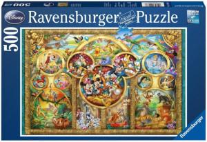 Puzzle Familia Disney, 500 Piese