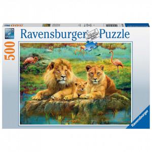 Puzzle Familie De Lei, 500 Piese