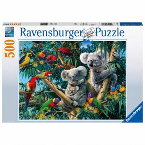 Puzzle Koala In Copac, 500 Piese