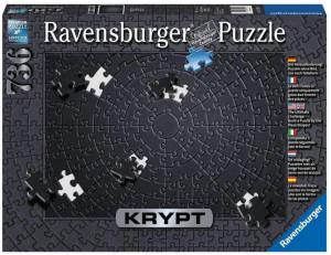 Puzzle Krypt Negru, 736 Piese