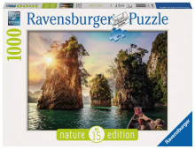 Puzzle Lacul Cheow, 1000 Piese