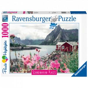 Puzzle Lofoten Norvegia, 1000 Piese