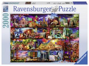 Puzzle Lumea Cartilor, 2000 Piese