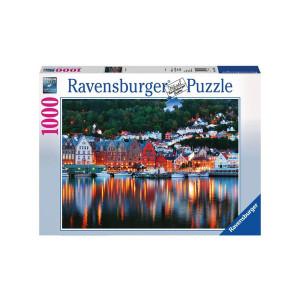 Puzzle Orasul Bergen, 1000 Piese