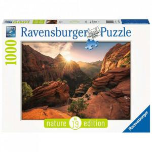Puzzle Parcul National Zion Sua, 1000 Piese