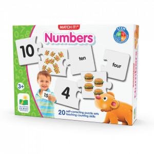 Puzzle Potriveste Numerele - Eng