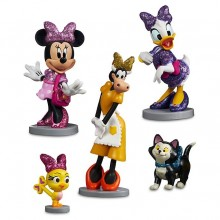 Set 5 figurine Minnie Mouse