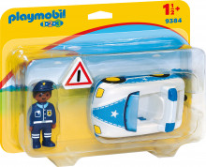 Set de joaca Playmobil, 1.2.3 Masina De Politie