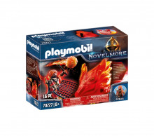 Set de joaca Playmobil Bandit Burnham Si Spiritul Focului