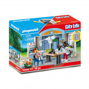 Set de joaca Playmobil Cutie De Joaca - Clinica Veterinara