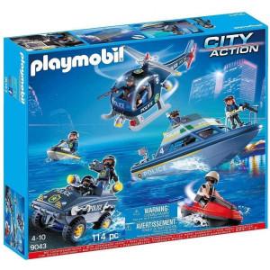 Set de joaca Playmobil, Vechicule De Politie