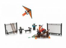 Set de joaca Roblox cu 4 Figurine, model Jailbreak Great Escape