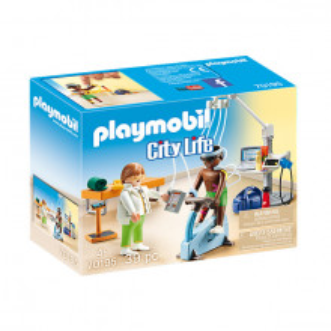 Set de joaca Playmobil City Life, Terapeut Fizic