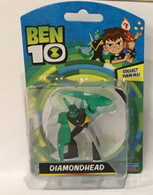 BEN 10 Mini figurina Cap de Diamant - 5 cm