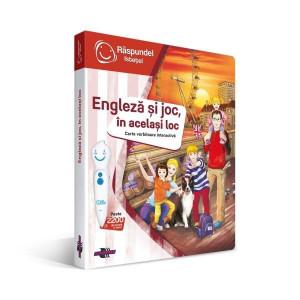 Carte Engleza Si Joc, In Acelasi Loc - Raspundel Istetel