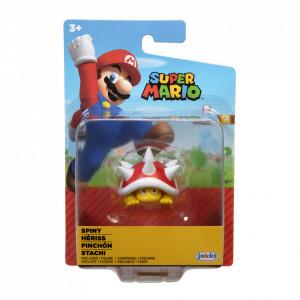 Figurina Nintendo Super Mario - Model Spiny Hariss, 6 cm