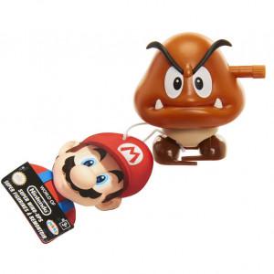 Figurina World of Mario Wind Up cu cheita - Model Paragoomba, 6 cm