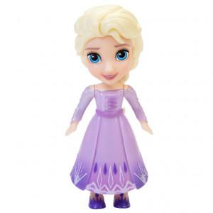 Frozen 2 Papusa Mini 8 Cm Elsa Rochie Mov